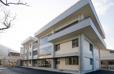 長浜高校特別教棟新築